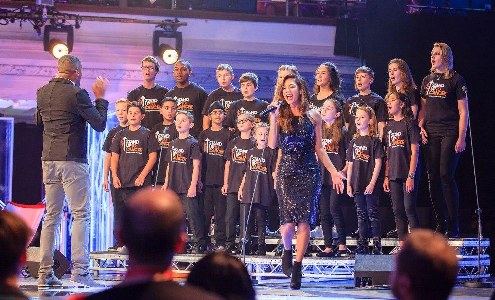 Stand Up 2 Cancer Nicole Scherzinger singing