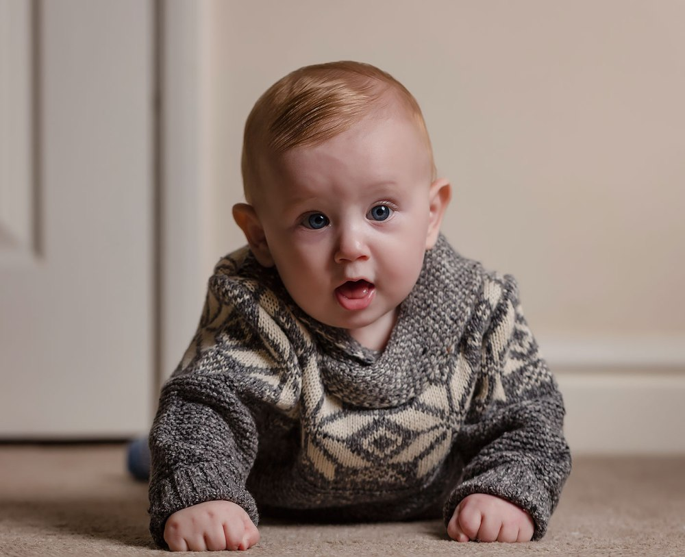 classic baby portrait